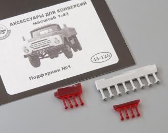 Подфарники No.1 8 шт. (125), красный