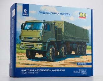 Сборная модель Камский грузовик-6560 бортовой