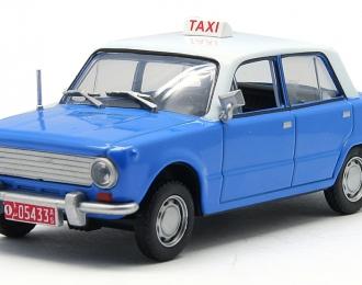 LADA 1200 Addis Ababa (1980), Taksowki Swiata 28, бело-голубой