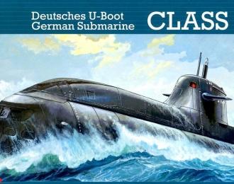 Сборная модель Немецкая подводная лодка типа U212