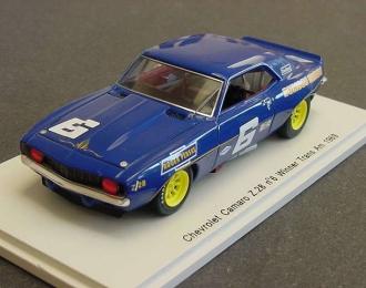 CHEVROLET Camaro Z.28 #6 Winner Trans Am (1969), blue