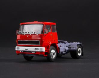 Skoda LIAZ-110.471, красный / серый
