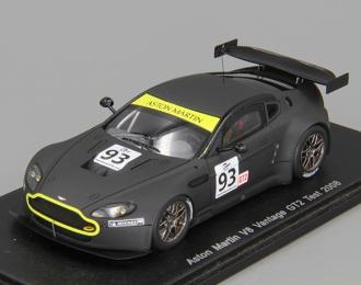 ASTON MARTIN V8 Vantage GT2 Test (2008), black matt