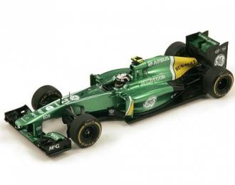 CATERHAM CT03 #21 Monaco GP 2013 Giedo Van der Garde, green