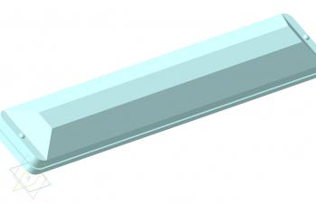 Светильник люминисцентный TUNGSRAM241800 (IKARUS), комплект 10 шт.