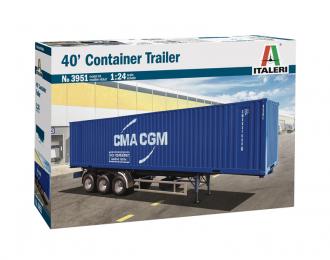 Сборная модель 40' Container trailer
