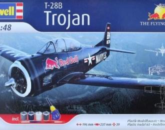 """Сборная модель North American T-28 Trojan """"Flying Bulls"""" (Подарочный набор)"""