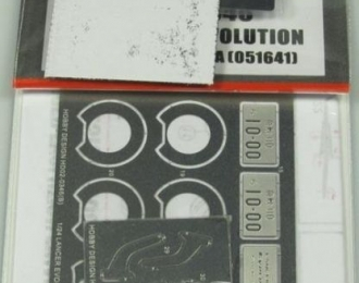 Набор для доработки Lancer Evolution Final Eoition для моделей A 051641 (PE+Resin)