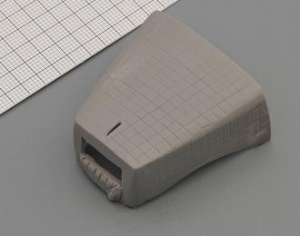 (KIT) Утеплитель капота (ватник) для КРАЗ-255, вариант 1