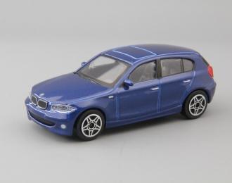 BMW 1 Series, blue