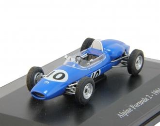 (Уценка!) ALPINE Formule 2 de 1964, серия Alpine and Renault Sportives 40, синий