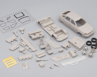 Сборная модель Lada Priora Хэтчбек ДПС (Волжский автомобиль 2172) рестайлинг 2011-2013