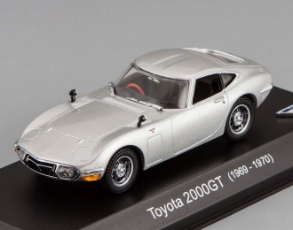 TOYOTA 2000 GT (1969-1970), silver