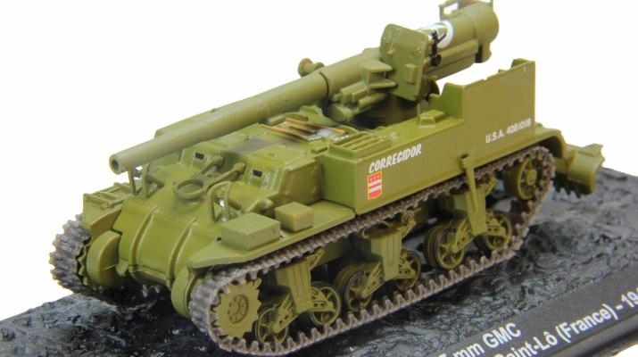 M12 155mm GMC 991st Field Artillery Battalion France (1944), Автомобиль на Службе Спецвыпуск