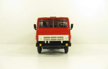 КАМАЗ 53212 молоковоз, красный / бежевый