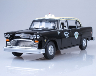 CHECKER A11 Black Cab Taxi (1963), black