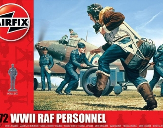 Сборная модель Обслуживающий персонал RAF (Вторая Мировая Война)