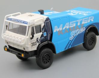 Камский грузовик 4925 #303 Ралли-Мастер, голубой / белый