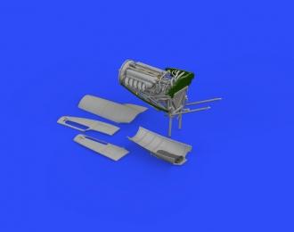 Набор дополнений Mosquito FB Mk. VI левый двигатель