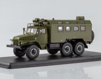 Кунг К-375 (на шасси Уральский грузовик 375), хаки