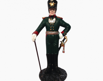 Фигурка Офицер Рижских биргерских рот, 1806-1807