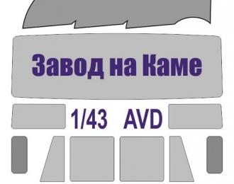 Окрасочная маска Грузовой автомобиль Камский (AVD)