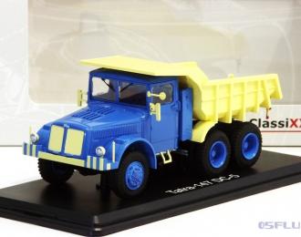 TATRA 147 DC5 самосвал (1958), blue / light yellow