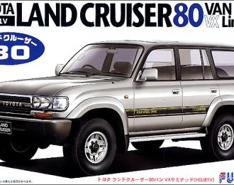Сборная модель Toyota Land Cruiser 80