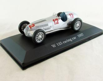 MERCEDES-BENZ W 125 Racing Car (1937), Mercedes-Benz Offizielle Modell-Sammlung 41, серебристый