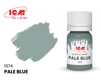 Краска для творчества, 12 мл, цвет Бледно-голубой(Pale Blue)