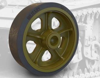 Набор дополнений сварные колес для американского легкого танка M3 / M3A1 / M5 (STUART)