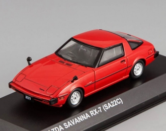 MAZDA Savanna RX-7 (SA22C), red