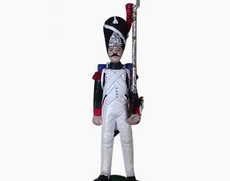 Фигурка Гренадер гренадерского полка Итальянской королевской гвардии, 1812
