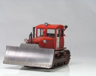 Т-74 поздний бульдозер (красно-белый)
