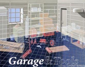 Сборная модель Современный гараж