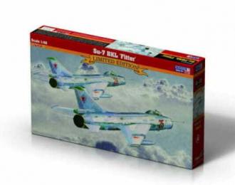 """Сборная модель Самолет Su-7BKL """"Fitter"""""""