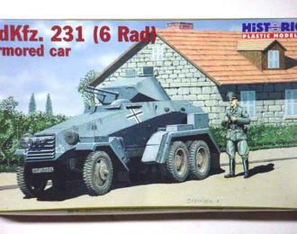 Сборная модель Танк Sdkfz. 231 (6 Rad) Armored Car