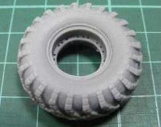 Набор для доработки Запасное колесо БТР-60 (2 штуки)