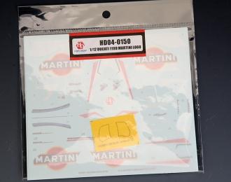 Декаль Ducati 1199 Martini LOGO