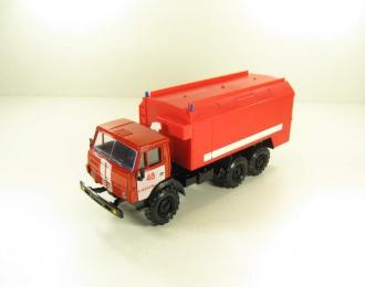 КАМАЗ 4310 пожарный, красный