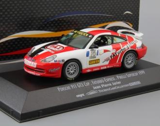 PORSCHE 911 GT3 Cup Jean-Pierre Jarier #16, white / red