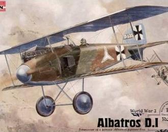 Сборная модель Истребитель Albatros D.I