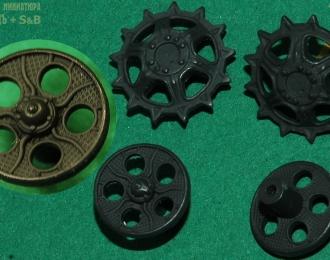Ведущие и направляющие колёса для моделей ДТ-75 (№19)