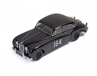 JAGUAR MKVII 164 R.Adams-F.Biggar Winner Rally Monte Carlo 1956, black