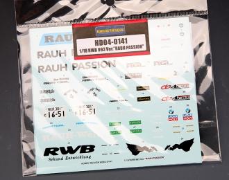"Декаль RWB 993 Ver.""Rauh Passion"""