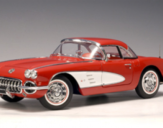 CHEVROLET Corvette (1959), roman red