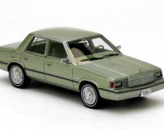 DODGE Aries K-Car (1983), green met