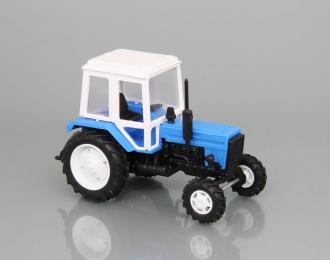 Трактор МТЗ-82, синий / белый