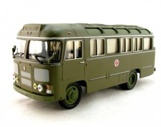 Павловский автобус 672М санитарный, хаки