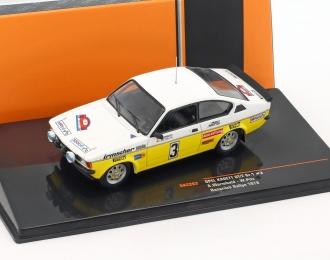 OPEL Kadett C GT/E #3 A.Warmbold/W.Pitz Rally Hunsrück 1978